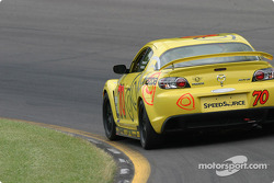 La Mazda RX-8 n°70 de SpeedSource (David Haskell, Sylvain Tremblay)