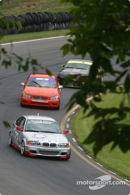 La BMW 330ci n°72 QuickSilver Motorsports : Steve Olsen, Tim Probert, John Munson