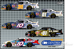 MB2 Motorsports and CENTRIX Financial jointly announced today a  multi-team sponsorship agreement and the formation of a NASCAR Nextel Cup team  that will commence in 2005 with Boris Said as the driver