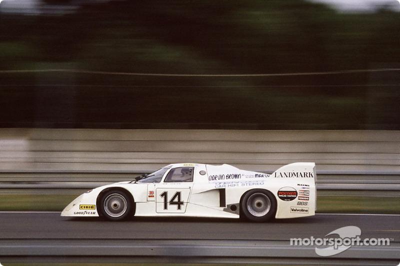 1. El March 82G Chevrolet de IMSA GTP