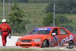 #0 Team Lexus Lexus IS300: Eddie Mady, Andy Brumbaugh