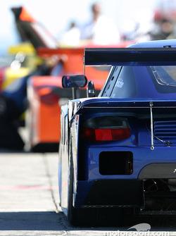 la Porsche Fabcar de l'équipe Brumos Racing