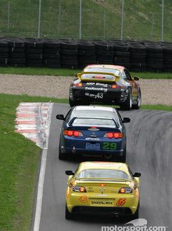 Bill Fenton Motorsports Acura Acura RSX – S : Mike Liebl, Bill Fenton, Bob Endicott; SpeedSource Mazda RX-8 : Shawna Marinus, Paul Mears Jr.