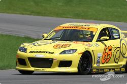 La Mazda RX-8 n°65 de SpeedSource (Shawna Marinus, Paul Mears Jr.)