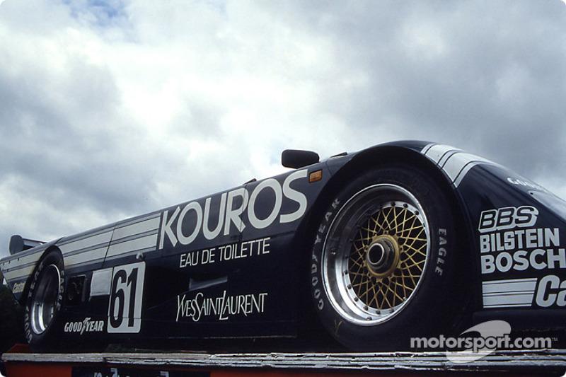 #61 Kouros Racing Team Sauber C8 Mercedes