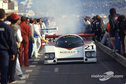 #21 Richard Cleare Racing March 85 G Porsche: Lionel Robert, Jack Newsum, Richard Cleare