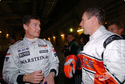 David Coulthard and Colin McRae