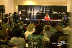 Press conference: Michael Schumacher