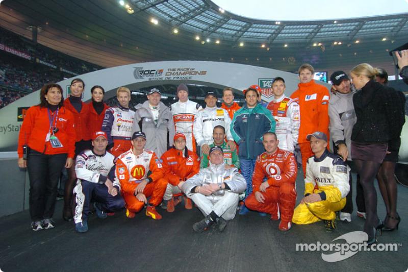 A Parigi per la Race of Champions 2004. IMP, motorsport.com
