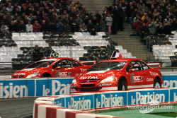 Quarter-final: Sébastien Loeb and Tony Kanaan