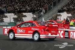 Superfinal 1: Heikki Kovalainen and Sébastien Loeb