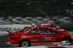 Semi-final: Marcus Gronholm and Colin McRae