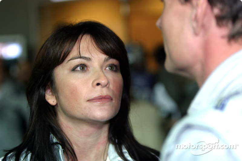 TV presenter Suzie Perry