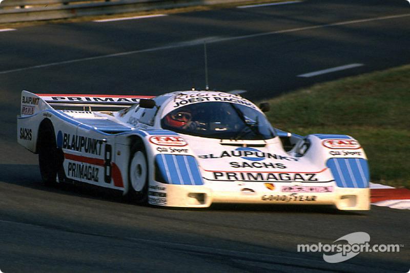 #8 Joest Racing Porsche 962C: Henri Pescarolo, Claude Ballot-Léna, Jean-Louis Ricci