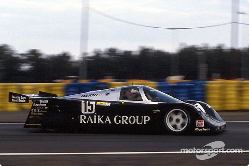 #15 Richard Lloyd Racing Porsche 962C: David Hobbs, Steven Andskar, Damon Hill