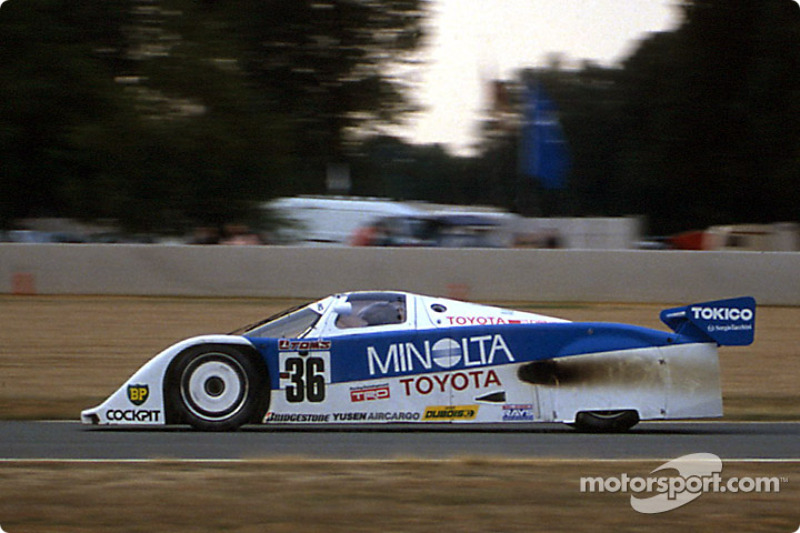 #36 Toyota Team Tom's Toyota 89C-V: Hitoshi Ogawa, Paolo Barilla, Ross Cheever