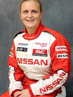 Nissan Rally Raid Team presentation: Tina Thorner