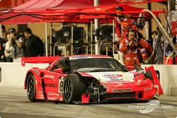 #8 Autobacs Racing Team Aguri Arta NSX: Katsutomo Kaneishi, Daisuke Ito