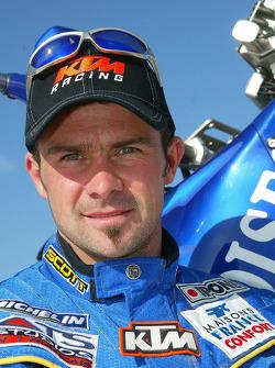 KTM team presentation: Gauloises KTM rider Cyril Despres