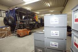 Volkswagen Motorsport's logistics in preparation for the Dakar