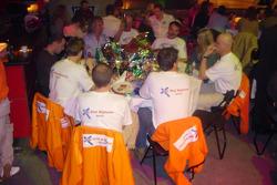 More pre-race celebrations