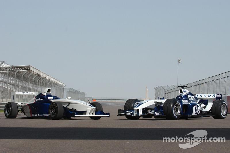 Formula BMW con el WilliamsF1 BMW FW26