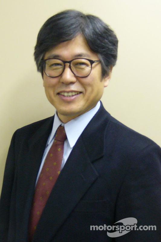 Touri Ueno, Genel Müdür, Motorsport Business Management Dept Toyota Motor Corporation