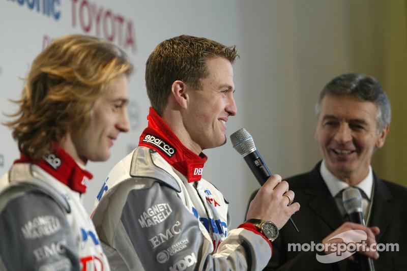 Jarno Trulli ve Ralf Schumacher
