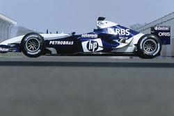 La nueva imagen del BMW WilliamsF1