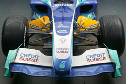 Detail of the new Sauber Petronas C24