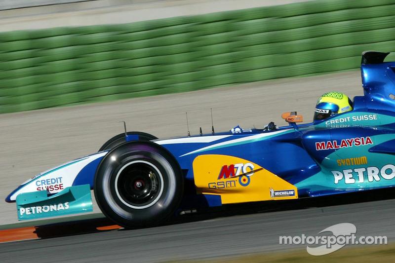 2005: Sauber C24 - 11 puan, şampiyonayı 13. sırada bitirdi