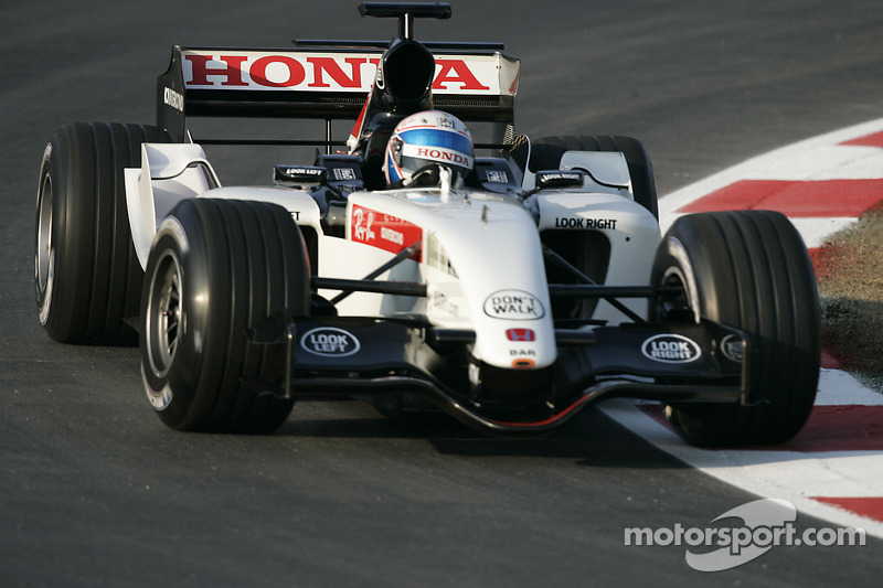 Anthony Davidson test ediyoryeni BAR Honda 007