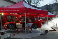 Mitsubishi Motors Motor Sports service area