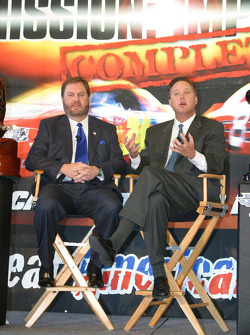Eddie Gossage and Brian France
