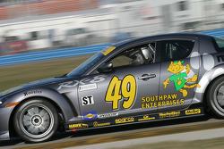 #49 Southpaw Racing Mazda RX-8: Mark Eaton, Mike Halpin