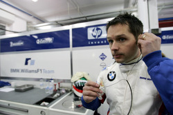ETCC 2004 champion Andy Priaulx test ediyorWilliams-BMW