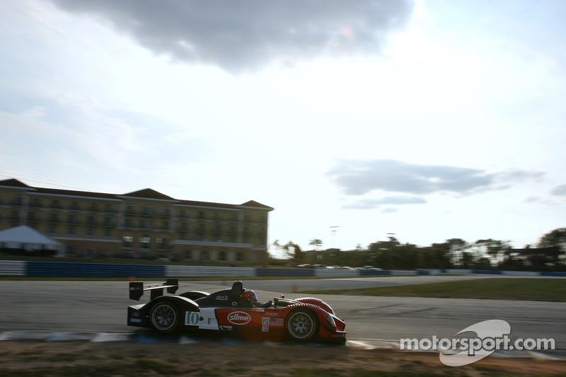 #10 Miracle Motorsports Courage C-65: John Macaluso, Jeff Bucknum, Chris McMurry