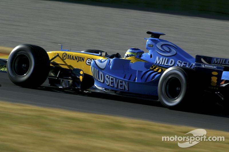 Джанкарло Фізікелла, Renault R25