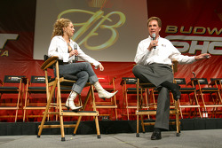 Darrell Waltrip on stage