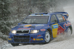 Mattias Ekström and Stefan Bergman