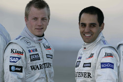 Kimi Raikkonen et Juan Pablo Montoya