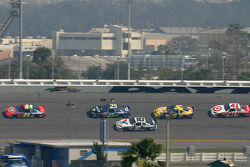 Jeff Gordon, Brian Vickers, Scott Riggs, Kyle Busch and Casey Mears