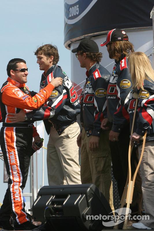 Presentación de pilotos: Tony Stewart