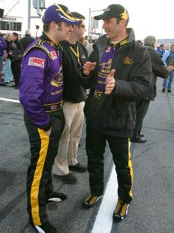 Martin Truex Jr. and Max Papis