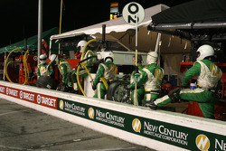 New Century Mtg/ Chip Ganassi w/Sabates crew members ready for pitstop