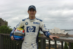 Williams-BMW event in Sydney: Mark Webber