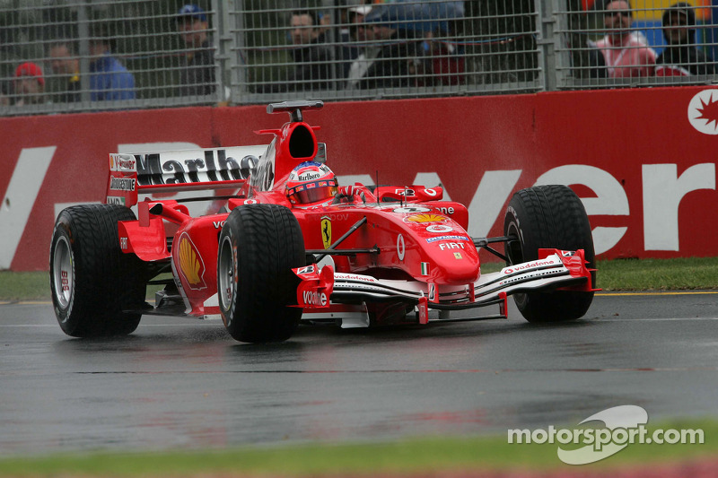 2005: Rubens Barrichello, F2004M