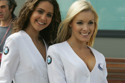 Charming BMW  Celebrity Challenge grid girls