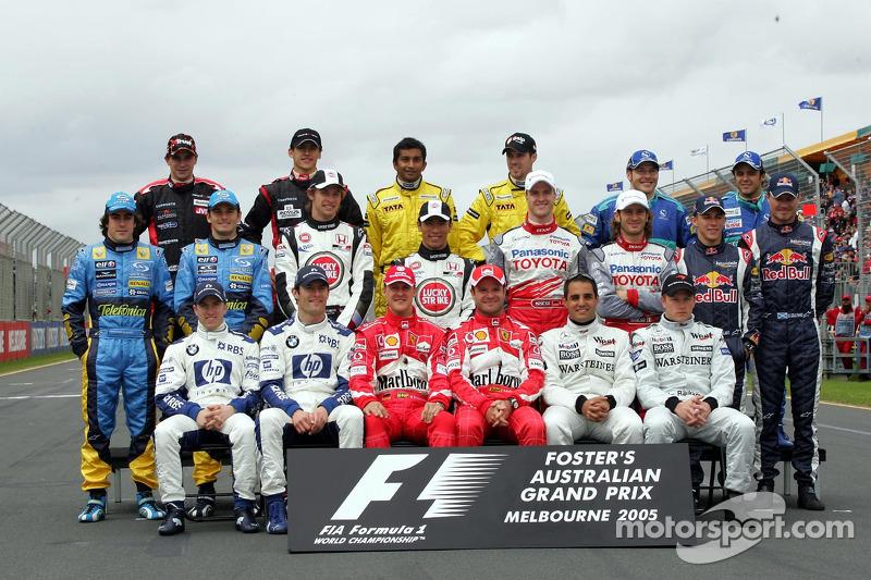 2005 Formula 1 sezonu pilotları