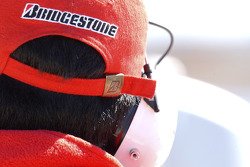 A Bridgestone technician